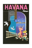 Cuban Travel Poster Posters