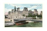 L'Hotel De Ville, Seine Print