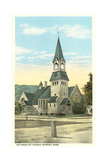 Universalist Church, Monson Posters