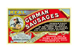 Real German Sausages Posters