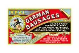 Real German Sausages Posters