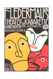 Poster for Fledermaus Theater Poster