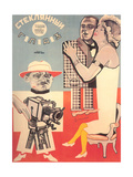 Russian Cameraman Poster Poster