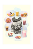 Soda Fountain Fare Poster