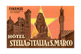 Ad for Hotel in Florence Posters