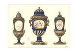 Three Sevres Urns Prints