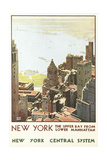 Manhattan Travel Poster Posters