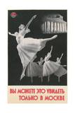 Russian Ballerinas Print