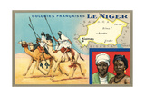 Map of Niger Print