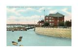 South Boston Yacht Club Kunstdruck