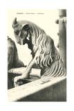 Goat Gargoyle, Notre Dame Prints