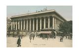 Paris Stock Exchange Prints