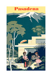 Pasadena Travel Poster Posters