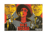 Russian Film Poster Print