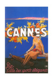 Travel Poster for Cannes Art