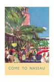 Nassau Travel Poster Prints