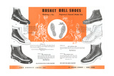 Basketball Shoes Print