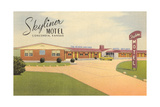 Skyliner Motel, Concordia, Kansas Prints