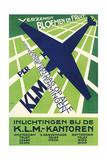 Klm Travel Poster Prints