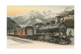 Gotthard Express Through the Alps Posters