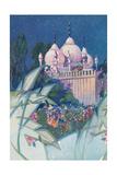 Fantasy Oriental Pavilion Posters