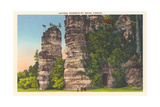 Natural Chimneys, Mt. Solon Poster