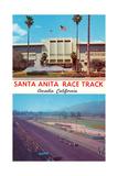 Santa Anita Racetrack Poster