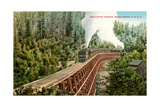 Dollarhide Trestle and Train Posters