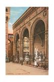 Florence, Loggia Dei Lanzi Prints