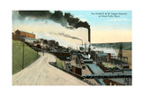Great B and M Copper Smelter, Great Falls, MT Prints