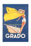 Travel Poster for Grado Poster
