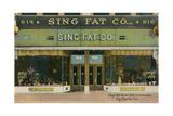 Sing Fat Company Print