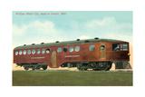 Mekeen Motor Rail Car Poster