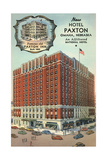 Hotel Paxton, Omaha Posters