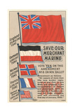 Save Our Merchant Marine Posters