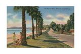 Channel Drive, Montecito, Santa Barbara Kunstdrucke