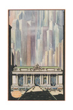 Manhattan Skyscrapers and Grand Central Prints