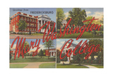 Mary Washington College, Fredricksburg Posters