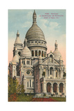 Sacred Heart Basilica, Montmartre Posters
