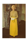 Wax Rendition of Princess Diana Prints