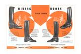 Riding Boots Art