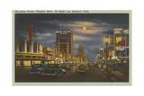 Wilshire Boulevard at Night Kunstdrucke