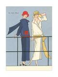 AGB Fashion Illustration Poster