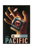 Pacific Cigarettes Poster