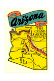 Arizona Decal Prints