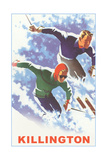 Killington Ski Poster Affiches