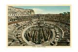 Rome, Italy, Coliseum Interior Posters