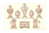 Sevres Porcelain Urns Prints
