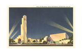 Hall of Religion, Texas Centennial Prints