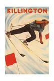Killington Ski Poster Posters